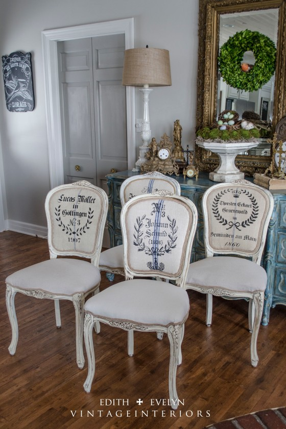 Renovated French Chairs